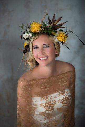 Wedding beauty photo