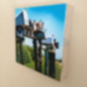 Wooden blocks with photos of the beautiful Overberg