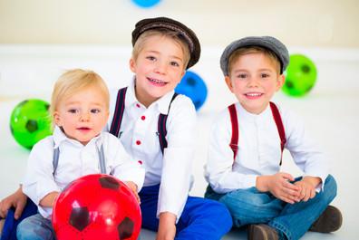 Three little french boys