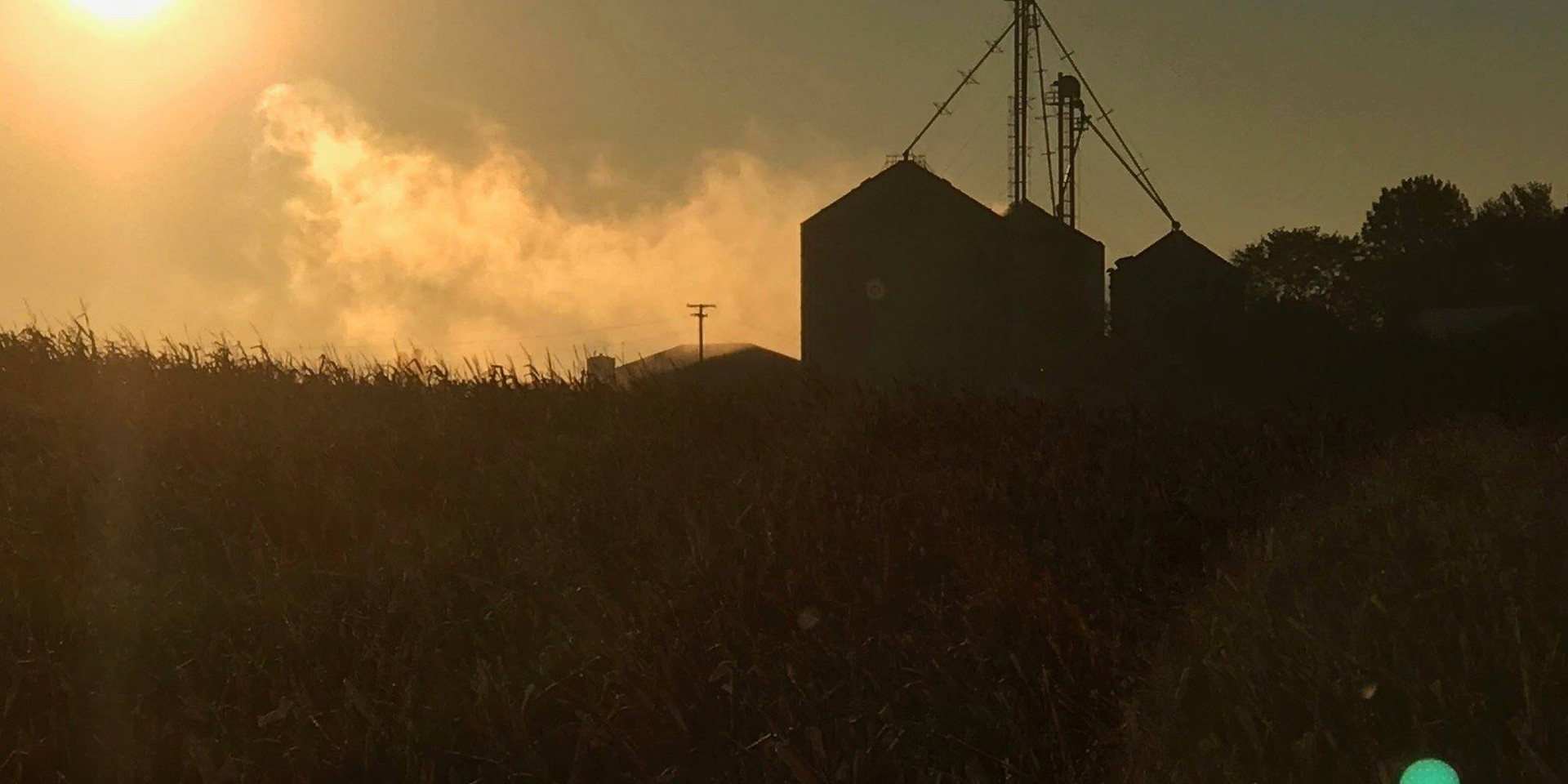 Sunrise on the Gramley Farm