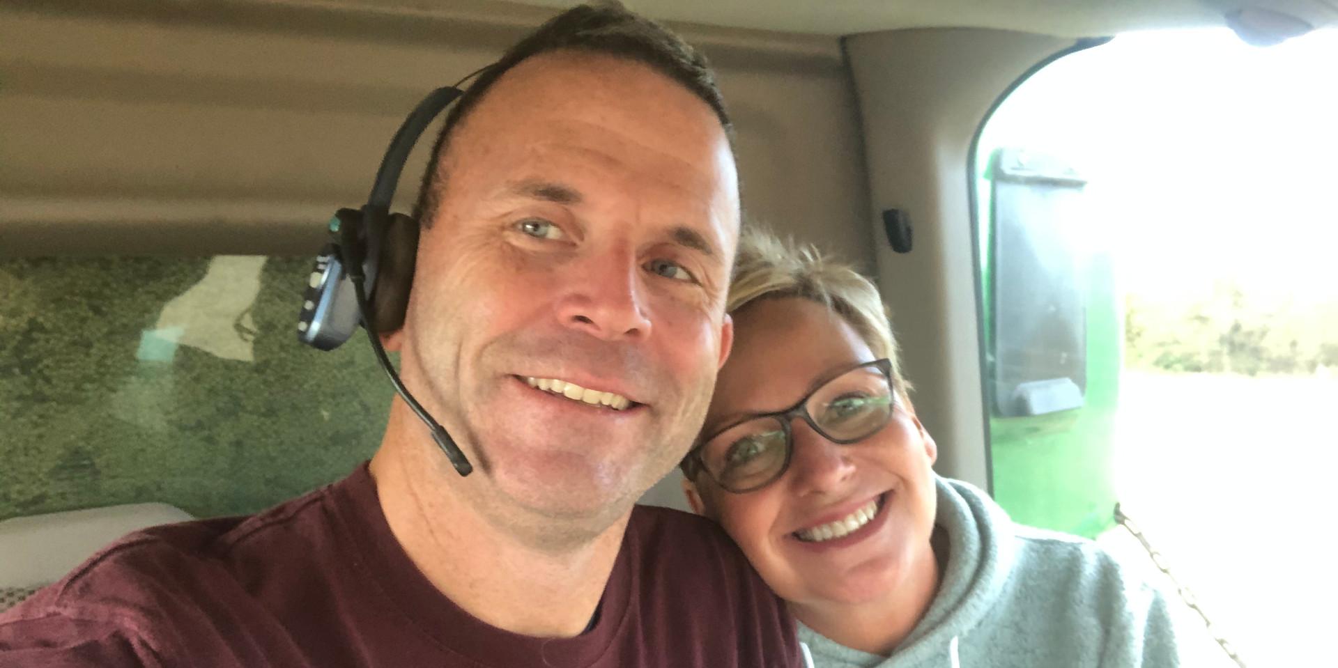 Chris and Dana, Harvest 2019