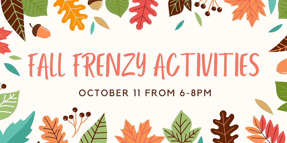 Fall Frenzy Activities