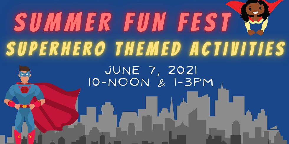 Superhero Youth Activities
