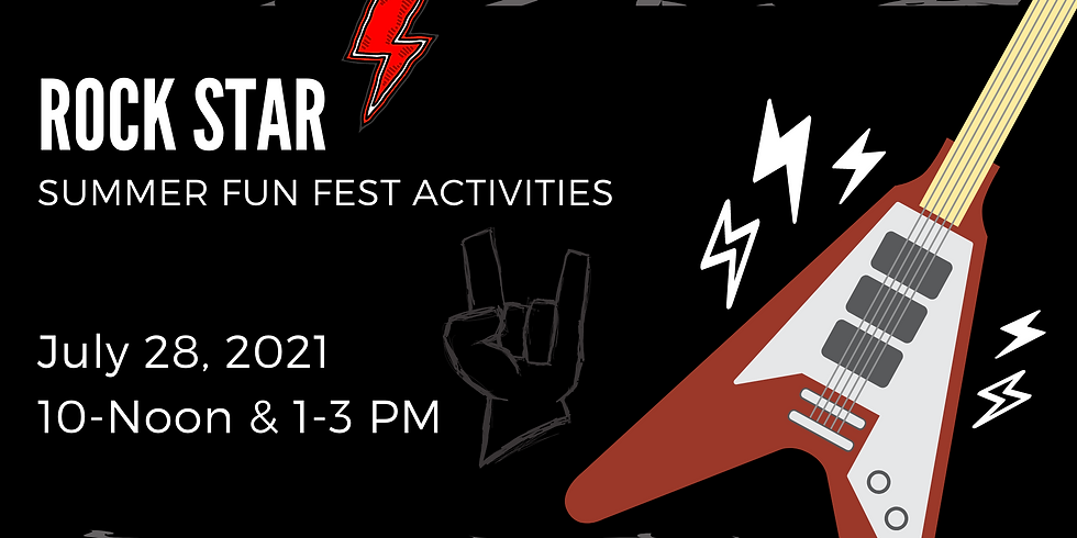 Rock Star Youth Activities