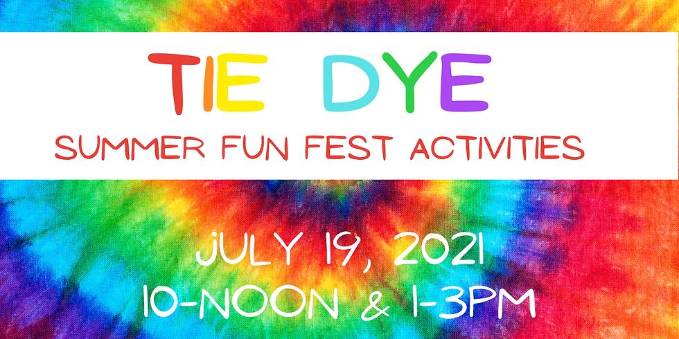 Tie Dye Youth Activities