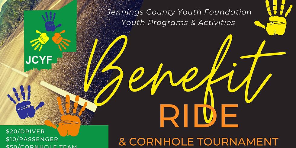 Benefit Ride & Cornhole Tournament