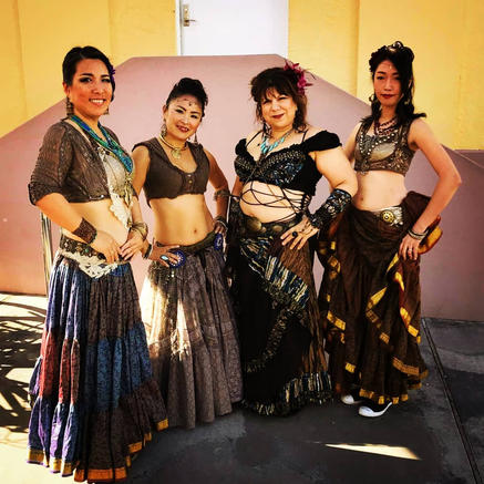 Tribal Fusion Belly Dancers