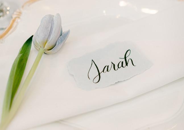 Sarah's Place Setting