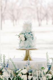 Something Blue Cake