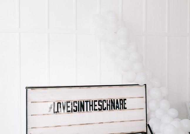 Schnare Wedding Sign
