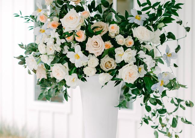 Will + Sarah Floral Arrangement