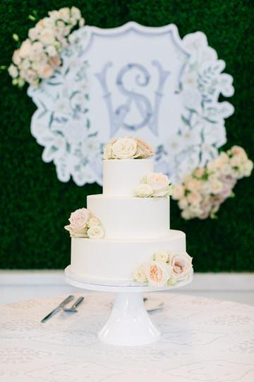 Will + Sarah Cake Display