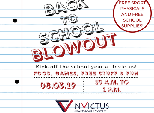 Invictus Back To School Blowout 2019