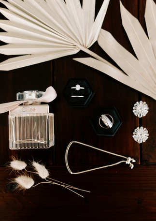 Wedding Flatlay Detail Shot