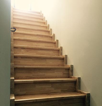 Pose escalier cremaliere rénovation maison TOULOUSE