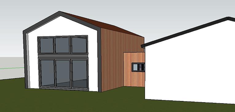 Extension architecturale pin-balma