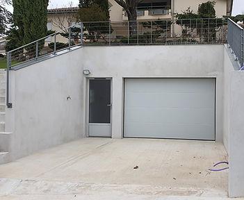 Porte de garage et porte de service assortie L'union 31