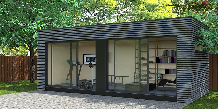 Modéle de studio de jardin 20m²  clef en main TOULOUSE