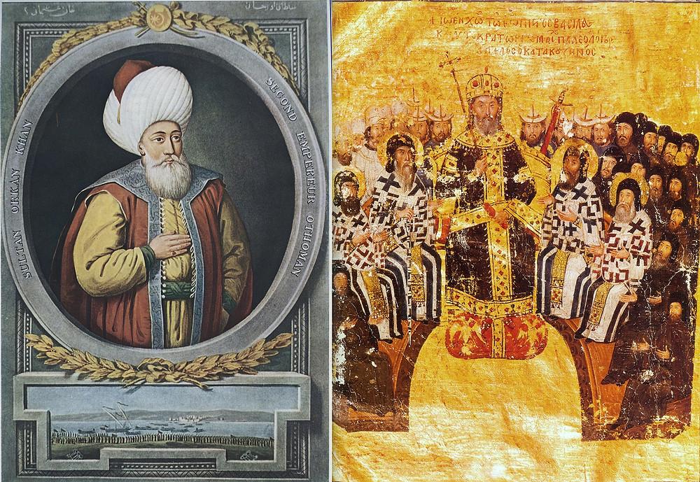 Orhan Gazi ve VI. İoannis Kantakuzenos