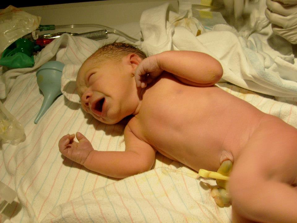 Newborn baby lincoln nebraska birth photography