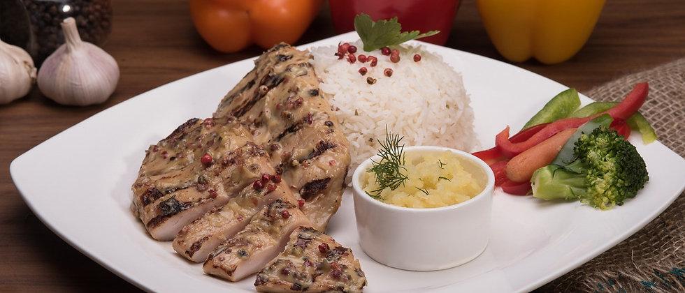 Teriyaki Grilled Chicken Steak