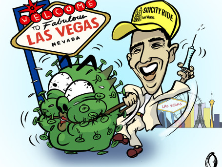 The vaccine has arrived in Vegas, Baby!