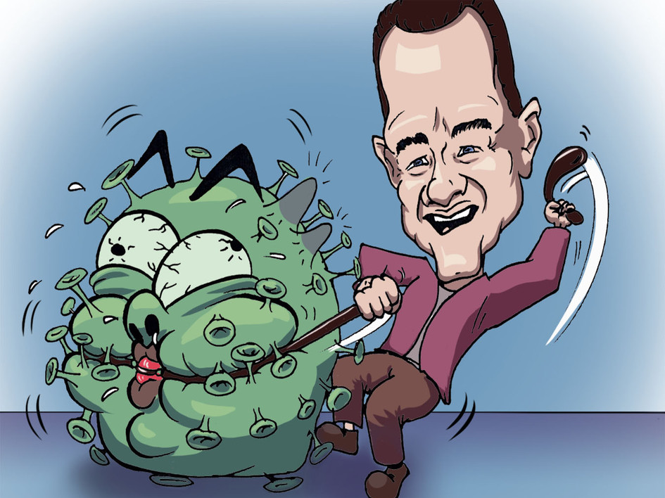 Tom hanks on his recovery from Covid-19