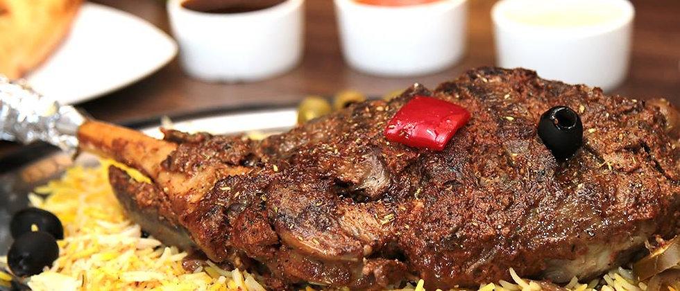 Lamb Leg Grill