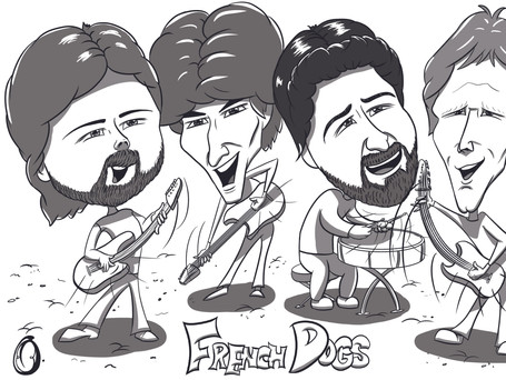 The French Dogs 70s punk band