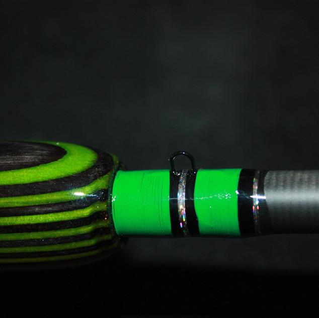 green/black laminate wood