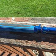 blue/gray laminate wood