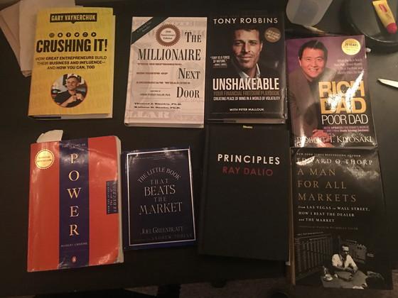 Top 5 Books I've Read!
