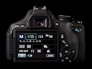 Camera metering settings