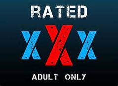 Rated XXX Adults only 18+