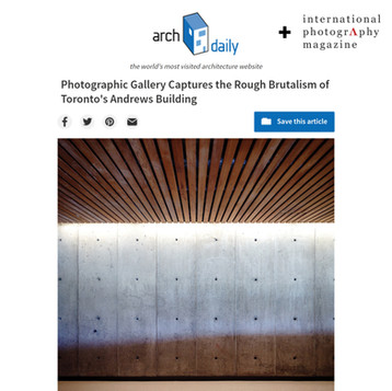 2018-2019 | Andrews Building | Publication on Archdaily + International Photo Mag