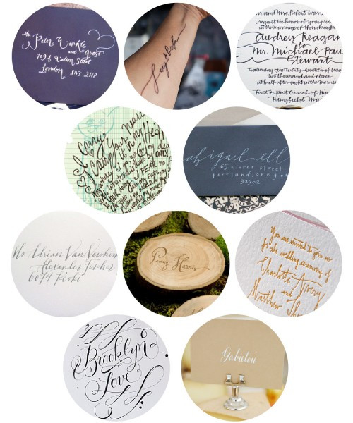 The Reign of Wedding Calligraphy