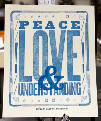 Letterpress Lessons in Austin