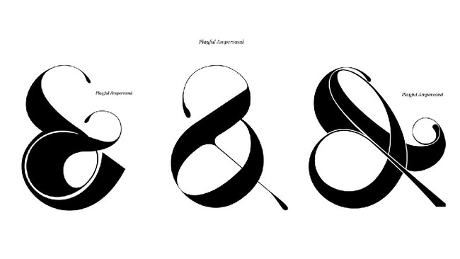 Ampersand Obsessions