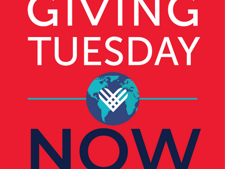 Giving Tuesday Now - 4 Ways to Join!