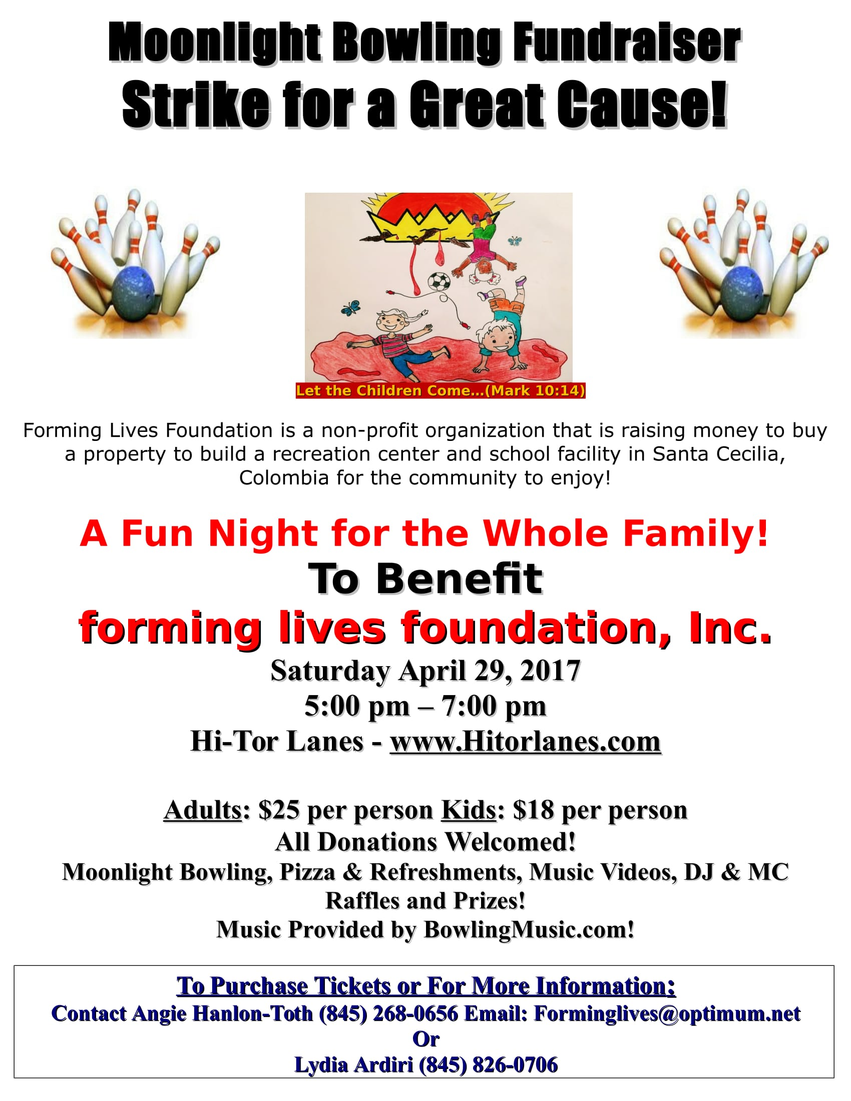FLF Bowling Event