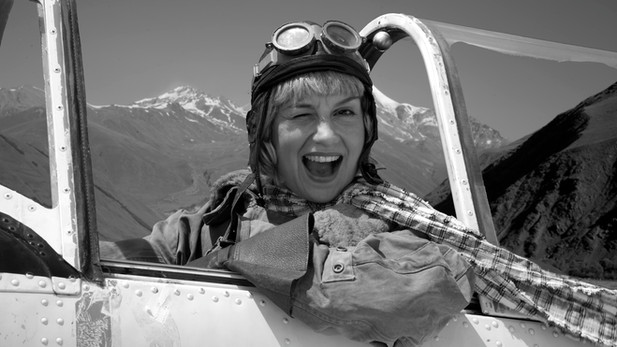 THE AVIATRIX OF KAZBEK
