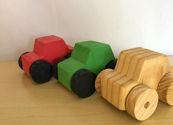 Wooden Wheeler Set