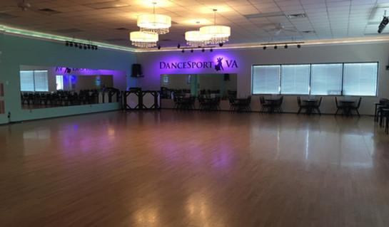 Main Ballroom at DanceSportVA