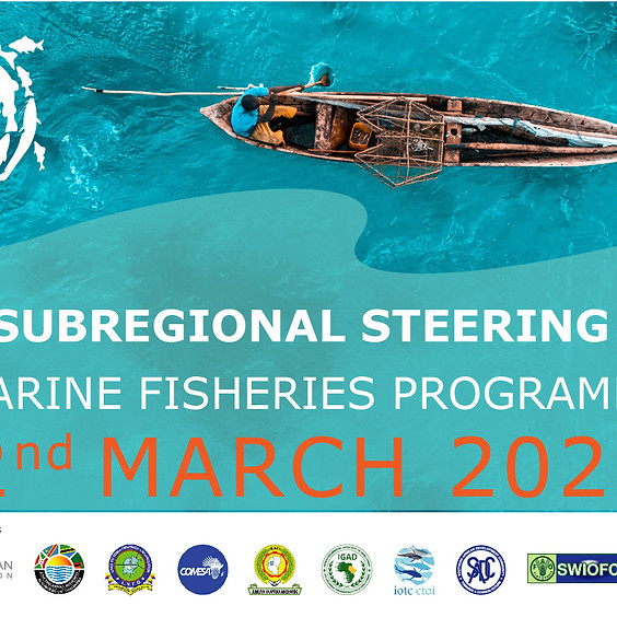 1st Subregional Steering Committee - Marine Fisheries Work plan