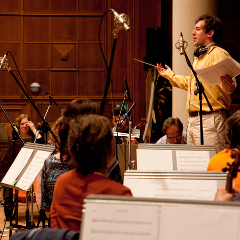 Nahrávanie filmovej hudby s Filharmonií B. Martinů v Zlíne