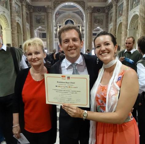 Lecco (IT) - víťazstvo na súťaži speváckych zborov