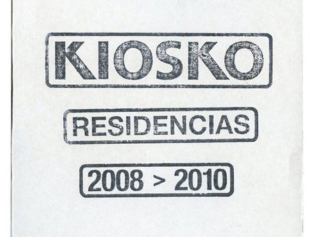 Artist in Residency catalogue, Kiosko Gallery