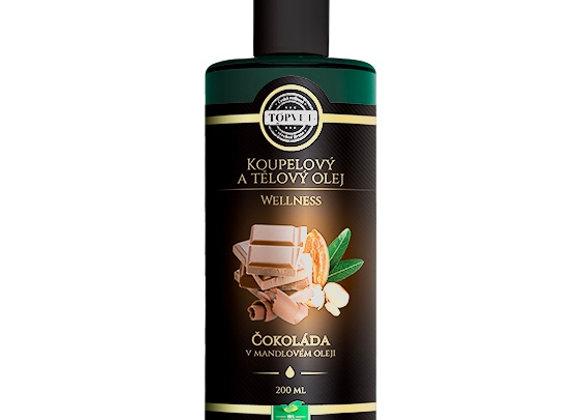 Čokoláda v mandlovém oleji