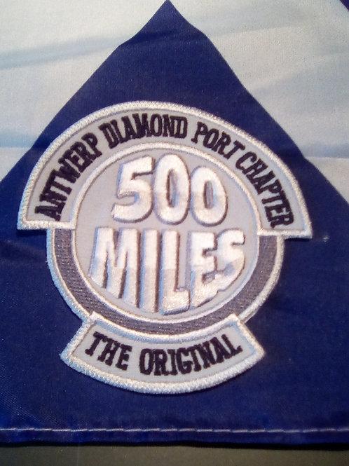 ADPC 500 MILES PATCH