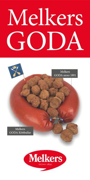 Nyheter från Melker. Korv och köttbullar av högsta kvalitet med en kötthalt nära 80% tillverkat i Dalarna